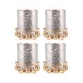 POMEROY 519468-S4 Gwendolyn Set of 4 Pillar Holders