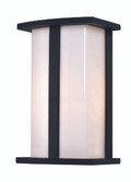 "Chime 10"" Outdoor Black Contemporary Pocket Lantern"