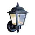 "Trans Globe Lighting 4006 RT 7.5"" Outdoor Rust  Traditional Wall Lantern(Shown in Black Finish)"