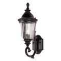 "Trans Globe Lighting 4021 BG 20"" Outdoor Black Gold Traditional Wall Lantern(Shown in Black Finish)"