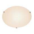 "Trans Globe Lighting 58708 PC 20"" Indoor Polished Chrome Contemporary Flushmount"
