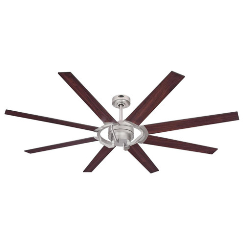 Westinghouse 7217300 Damen 68-Inch Nickel Luster Indoor DC Motor Ceiling Fan, Remote Control Included