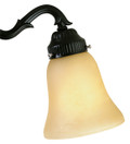 Fanimation G250 2 1/4 Glass Light Kit in Amber