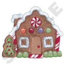 Gingerbread house 2 (XM0957)