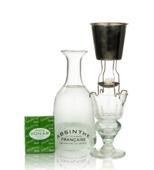 Verse-Eau 4 Leg Absinthe Brouilleur Set for One