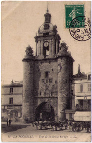 La Rochelle - Absinthe Berger Postcard