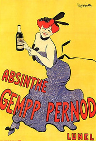 Absinthe Gempp Pernod Poster 43054