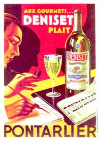 Absinthe Deniset Poster 43048