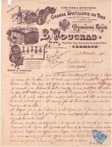 B. Foucras Invoice