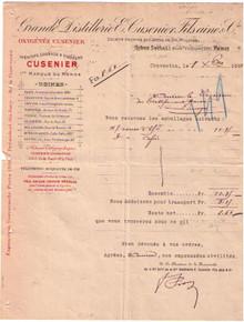 E. Cusinier Invoice 42707