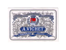 Antique Vichet Mignonnette Absinthe Bottle Label