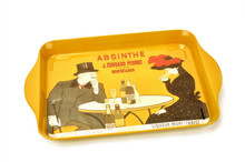 Absinthe Pernot Metal Tray, Small