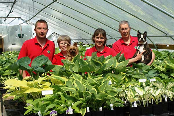 Meet the staff at New Hampshire Hostas