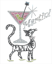 Ovrs1469 - Pussy Cat Martini Drink - ON SALE!
