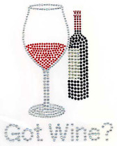 Ovrs2057 - Got Wine? with Wine Glass and Wine Bottle - ON SALE!