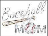 Ovrs4522 - Baseball Mom & Baseball Bat