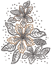 Ovrs1325 - Floral Decor