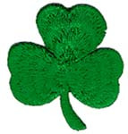 Ov9499 - St. Patrick Green Shamrock Patch