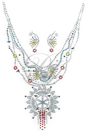 Ovrs311 - Medallion V-Neckline