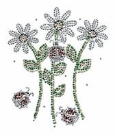 Ovrs3798 - Daisies and Ladybugs