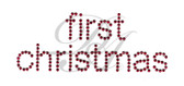 Ovrs3193 - First Christmas - ON SALE!