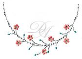 Ovrc1679 - Flower Round Neckline