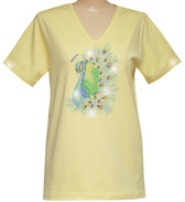 Style # 1704 - Yellow w/ Design # Ovrs7324 & Ovrs32 (Clear)