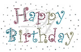 Ovrs4770B - Multi Color Happy Birthday