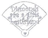 Ovrs5252C - Diamonds are a Girl's Best Friend