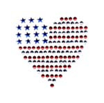 Ovr56 - Small Americana  Heart - ON SALE!