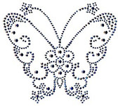 Ovrs455- Butterfly Medium Silver