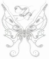 Ovrs4936 - Butterfly V-neckline