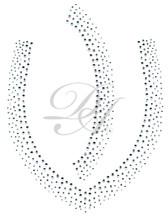 Ovrs1441 - Scattered V-Neckline for Tunic