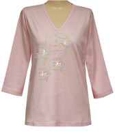 Style # 1007 - Pink w/Design # Ovrs524