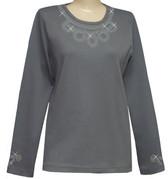 Style # 1009 - Gray w/Design # Ovrs7209
