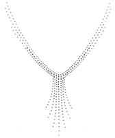 Ovrh2208 - V Neckline with Drop Jewels  - ON SALE!