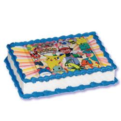 Pokemon Xtreme Image Cake Kit