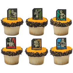 Star Wars Rebels Regiment 12 Shaped Cupcake Rings