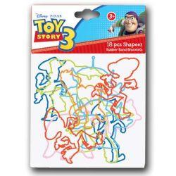 Toy Story 18pc Rubber Band Bracelets