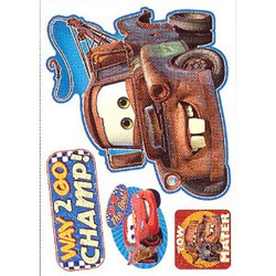 Cars Mater Celebration Medium Moveable Decorations