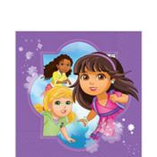 Dora & Friends Lunch Napkins 16 Count