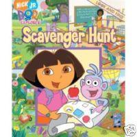 Dora Mini Look & Find Book