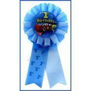 Cars 1st Birthday Award Ribbon