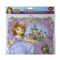 Sofia the First 12 pk Paper Placemats
