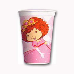 StrawBerry Princess Party 17 Oz Plastic Stadium Cup
