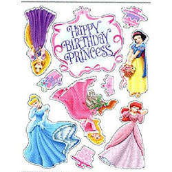 Princesses-Birthday Moveable Decorations