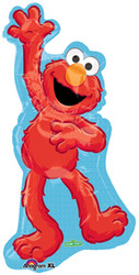 "Elmo Waving Shape 38"" Foil Balloon"