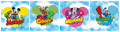 Mickey Clubhouse Wall Border