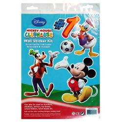 Mickey Mouse Wall Stickers 1 Sheet