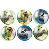Jurassic World Bounce Balls 6 Count